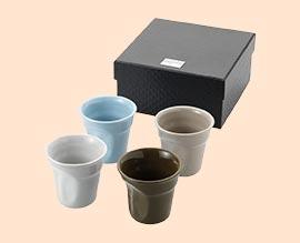 4-delig espressoset
