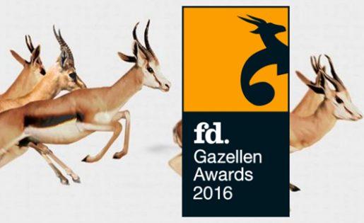 Online promotieartikelen leverancier Pinkcube wint opnieuw FD Gazellen Award