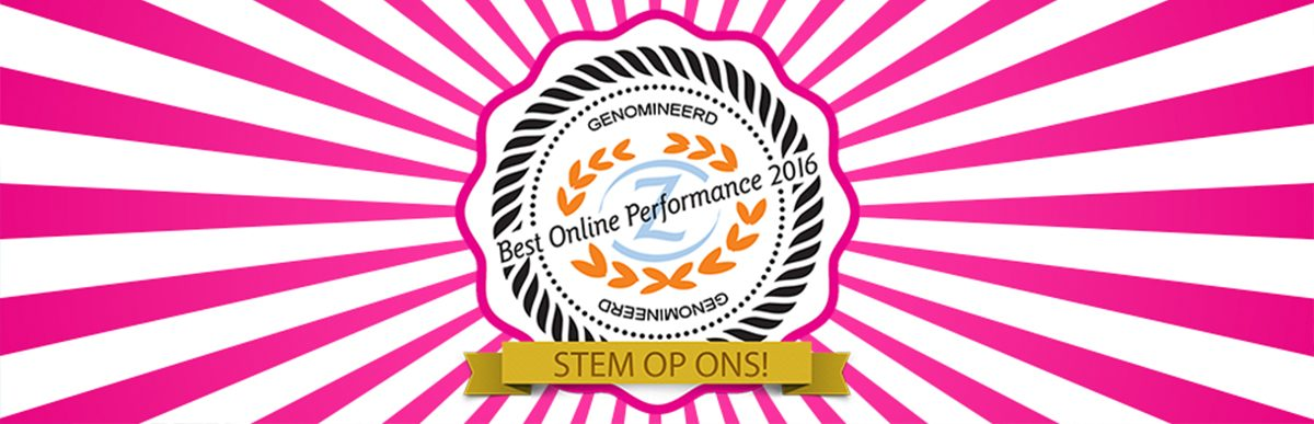 Nominatie Best Online Performance Award 2016