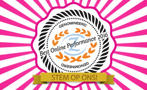 Nominatie Best Online Performance Award 2016