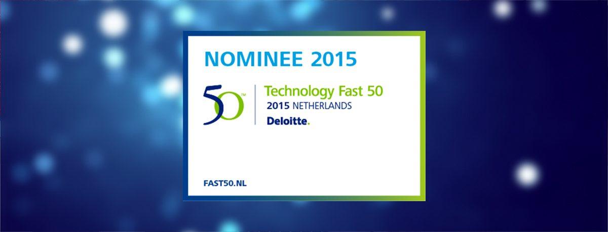 Pinkcube genomineerd voor de Deloitte Technology Fast50