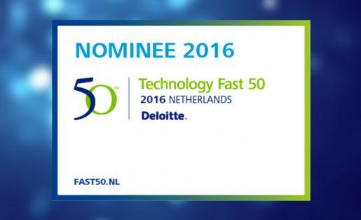 Pinkcube opnieuw genomineerd voor de Deloitte Technology Fast50