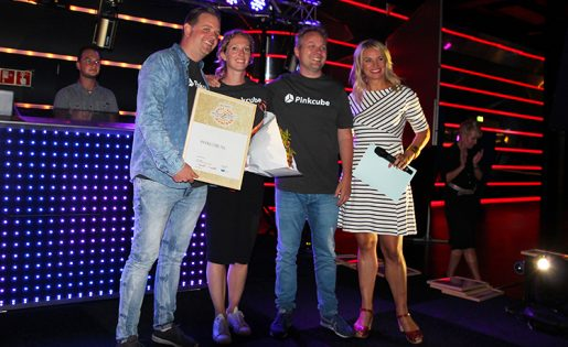 "Pinkcube wint opnieuw ""Best Online Performance"" award"