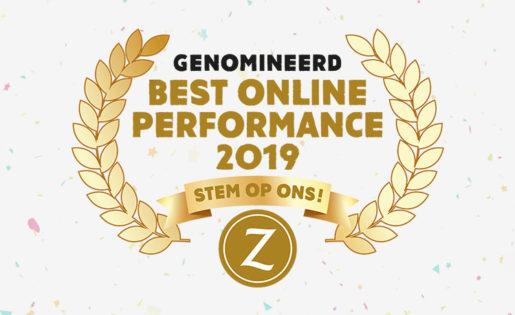 "Pinkcube maakt kans op de titel ""Best online performance 2019"""