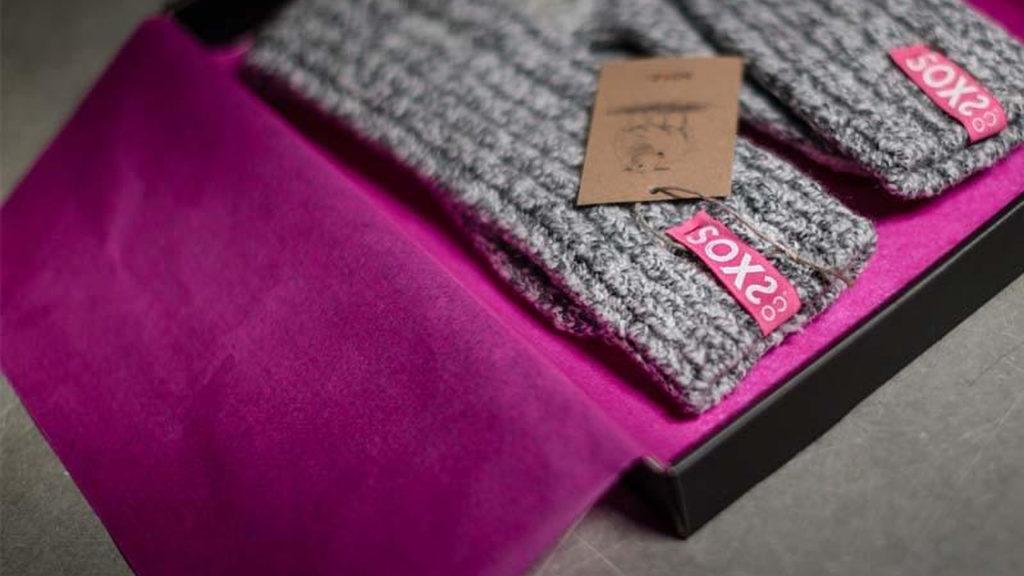 Soxs sokken met eigen label
