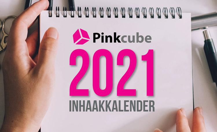 Download nu de Pinkcube Inhaakkalender 2021