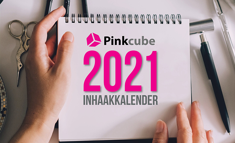 Download nu de Pinkcube Inhaakkalender 2021