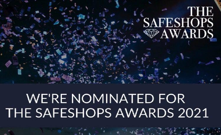 Pinkcube is genomineerd voor een Safeshops Award