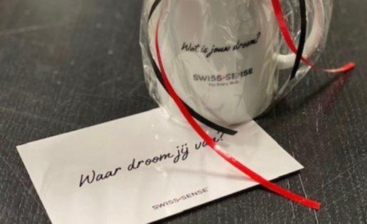 Swiss Sense prikkelt medewerkers met de quote 'waar droom jij van?'