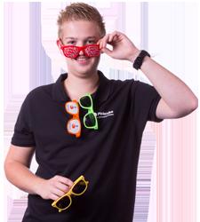 Specialist zonnebrillen bedrukken