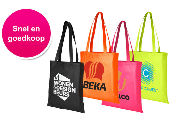 Bedrukte Strandtassen : Tassen bedrukken goedkoop snel bedrukte tasjes