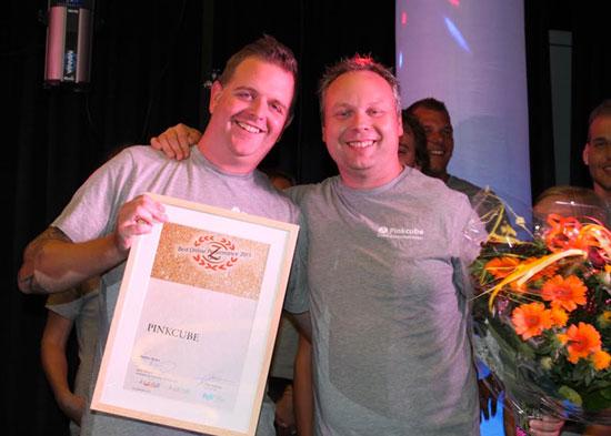Pinkcube wint award voor Best Online Performance