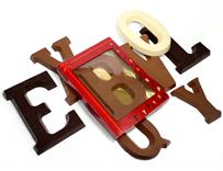 Chocoladeletters bedrukken