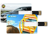 Creditcard USB-sticks bedrukken