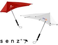 Stormparaplu's bedrukken