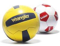 Voetballen bedrukken