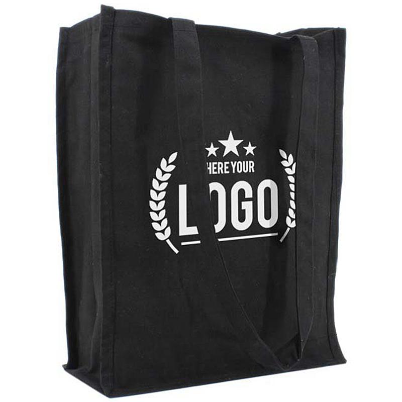 canvas tas staand zwart bedrukken voordelig amp snel