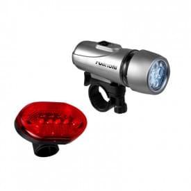 2 Delige fietslampenset inclusief batterijen
