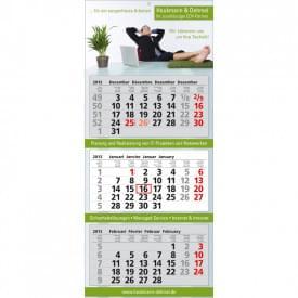 Wandkalender Classic (3 blokken)