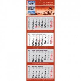 Wandkalender Classic (4 blokken)