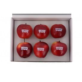 6 appels in een geschenkverpakking