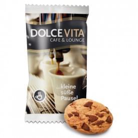 Chocolade koekje in zakje
