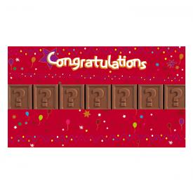 Acetaat 7 Congratulations - eigen tekst