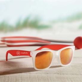 America touch transparante zonnebril