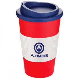 Americano large thermo beker met siliconen grip