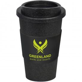 Americano Midnight thermo beker met siliconen grip