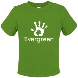 Baby t-shirt met korte mouwen (biologisch katoen)