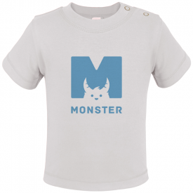 Baby t-shirt met korte mouwen (polyester)