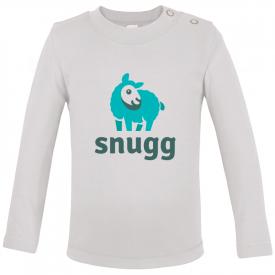 Baby t-shirt met lange mouwen (polyester)
