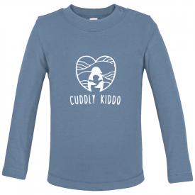 Baby t-shirt met lange mouwen (biologisch katoen)