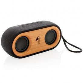 Bamboo X dubbele speaker