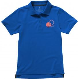 Basic katoen/polyester dames polo