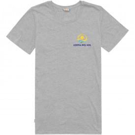 Basic katoen/polyester dames t-shirt
