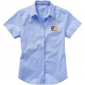 Basic Oxford dames overhemd korte mouw