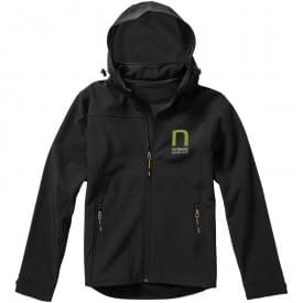 Basic softshell heren jack