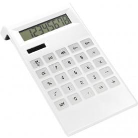 Bureaucalculator met batterijen