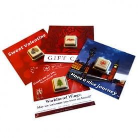 Chocolade Giftcard 1 blokje