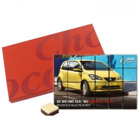 Chocolade met foto 24 blokjes