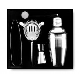 Cocktailset met accessoires en geschenkverpakking