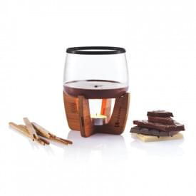 Cacao chocolade fondue set