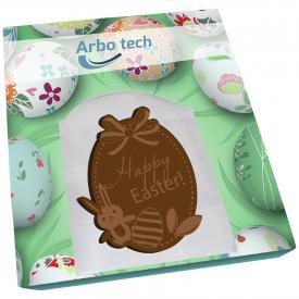 Doosje met chocolade in eigen vorm