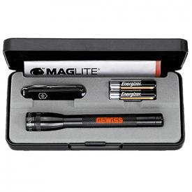 Geschenkset Victorinox & Maglite Mini AAA