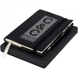 Geschenkset met notitieblok en pen