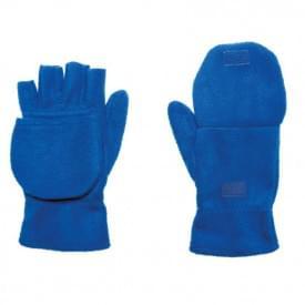Half-vinger fleece handschoenen