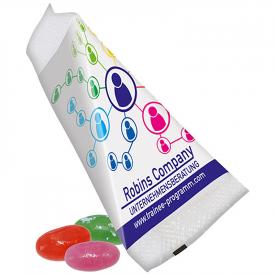 Jelly beans in driehoekzakje