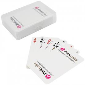 Kaartspel in kunststof doosje (320 grams)